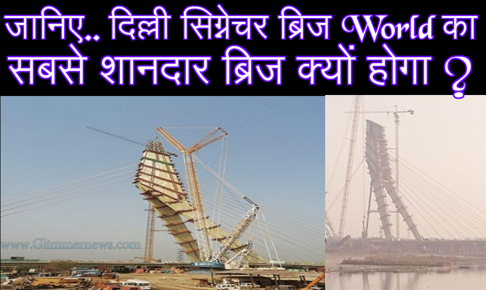 Latest Signature Bridge Delhi News in Hindi