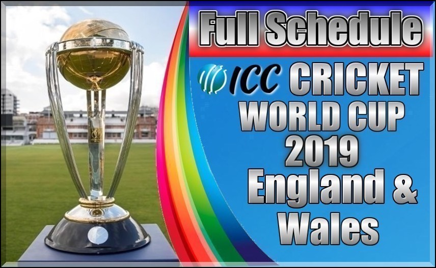icc cricket world cup 2019 is starting on 30th may and will be played and icc cricket world cup 2019 on the final match on july 14 in lords stadium london