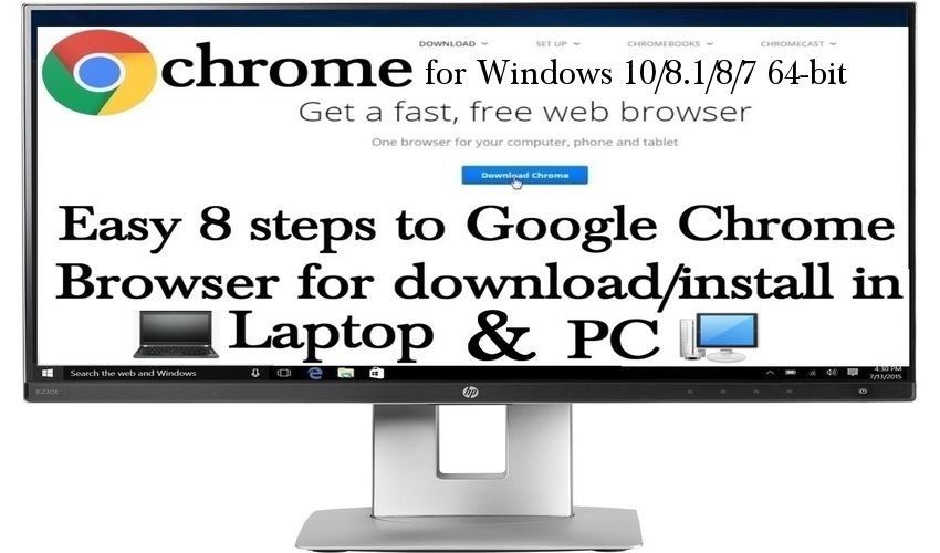 How To Install & Download Google Chrome in PC: Easy Steps