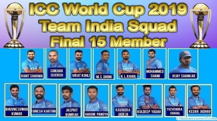 india-team-squad-for-Cricket-world-cup-2019-image